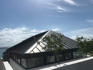 Angle Seam Roof Zinc